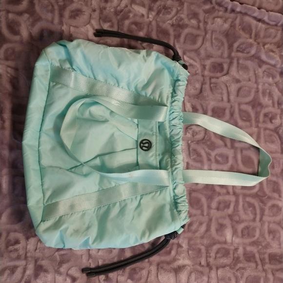 cf11b37187 lululemon athletica Handbags - Mint green Lululemon gym bag